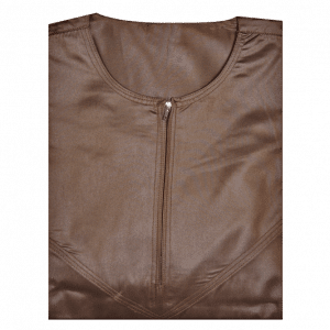 Brown Omani Thawb Jubba - Top View